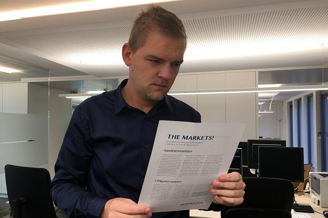 Maarten Janssens met The Markets oktober 2018